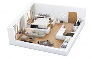 [Tham khảo] Ý tưởng thiết kế nhà diện tích nhỏ 30m2
