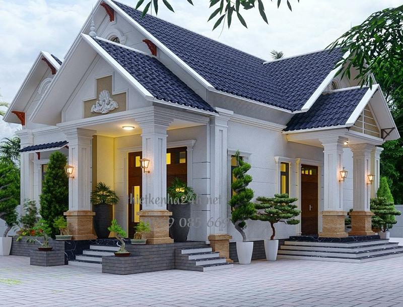 Biệt thự nhà vườn đẹp mắt ấn tượng nhà anh Đạo tại Ninh Bình