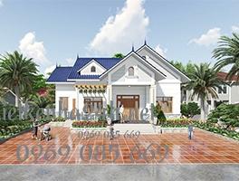 Mẫu thiết kế nhà cấp 4 4 phòng ngủ 1 phòng thờ tại Lạng Sơn