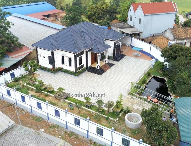 Ngôi nhà vườn mái nhật đẹp nhất Sông Lô - Vĩnh Phúc