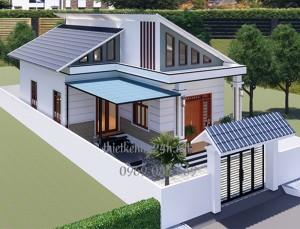 Chiêm ngưỡng mẫu nhà cấp 4 mái lệch giá rẻ tại Bình Phước