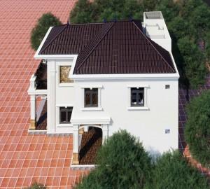Biệt thự 2 tầng phong cách hiện đại tại Hưng Yên