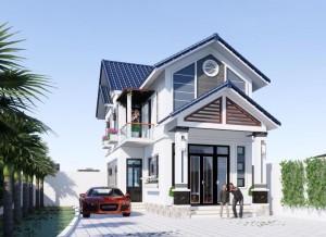 Chiêm ngưỡng mẫu biệt thự 2 tầng phong cách hiện đại tại Phú Thọ