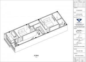 Ngắm nhìn mẫu nhà ống 2 tầng tại Mỹ Đức Hà Nội