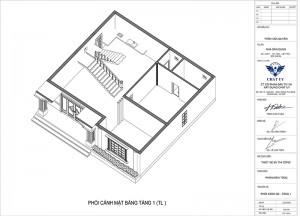 Mẫu biệt thự 2 tầng hiện đại 4 phòng ngủ 1 phòng thờ