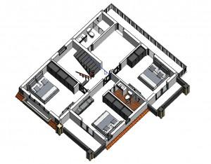 THIẾT KẾ BIỆT THỰ ĐẸP - 220 m2 GÍA 1,2 TỶ TẠI NINH BÌNH