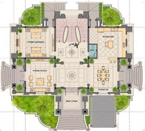 Biệt thự tân cổ điển – Sức hấp dẫn đến từ đường nét thiết kế