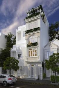Mê mẩn với những mẫu thiết kế mặt tiền nhà phố đẹp nhất mọi thời đại