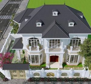 Chia sẻ quá trình thiết kế xây dựng biệt thự hiện đại đẹp đến nao lòng