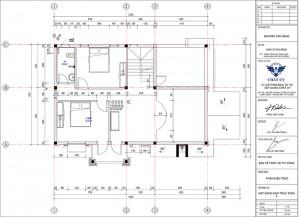 Thiết kế nhà cấp 4 mái thái có gác lửng độc đáo và khoa học