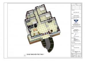 Ngắm nhìn mẫu nhà cấp 4 mái thái có tầng hầm SIÊU đẹp