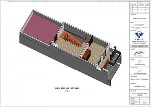 Ngắm nhìn mẫu nhà ống 3 tầng nổi bật tại Hoà Bình