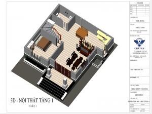 Mẫu nhà 2 tầng hiện đại tại Chương Mỹ Hà Nội