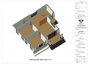 Mẫu nhà cấp 4 mái thái 2 phòng ngủ tại Thanh Hoá