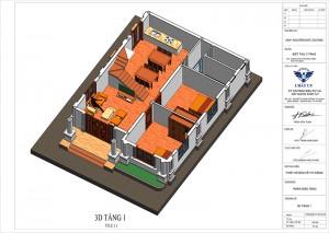 Mẫu biệt thự 2 tầng 5 phòng ngủ hiện đại, hợp phong thuỷ tại Thái Bình