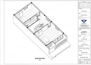 Chiêm ngưỡng mẫu nhà phố 3 tầng đơn giản mà đẹp tại Hà Nội