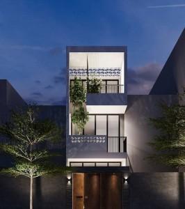 Những mẫu thiết kế nhà ống 3 tầng phù hợp không gian sinh sống thành phố